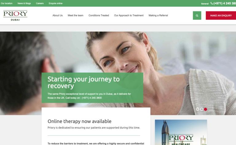 Priory Wellbeing Centre Dubai